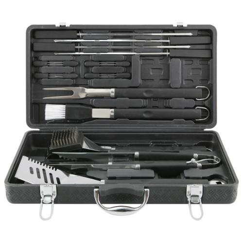 Mr BBQ 18-piece Grilling Tool Set with Plastic Case