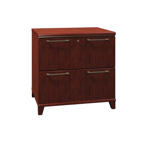 Enterprise Collection Engineered Wood Blend Contemporary Professional Style 30 W 2-Drawer Lateral A4 Size File ()