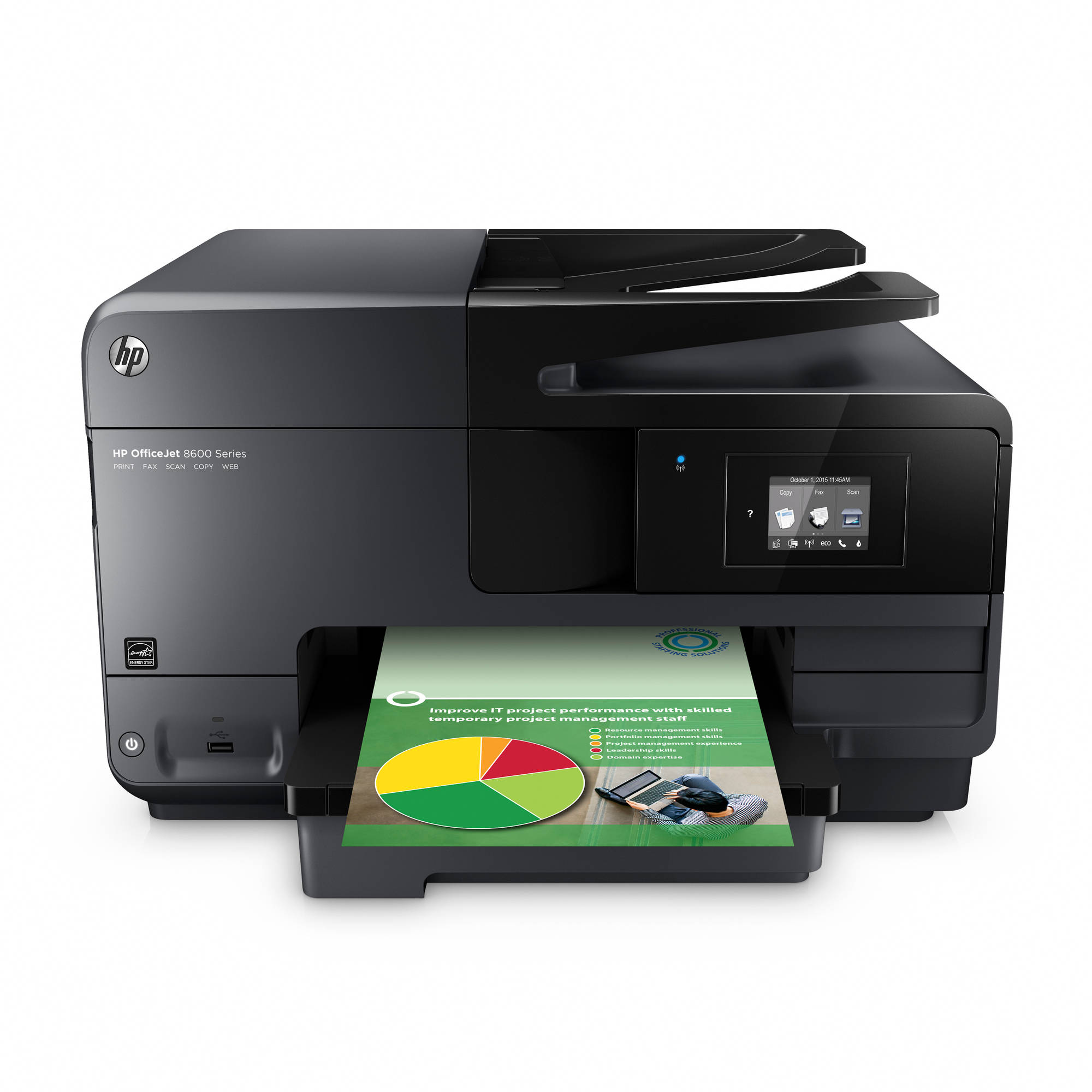 HP OfficeJet 8600 Inkjet e-All-in-One Multifunction Printer/Copier/Scanner/Fax Machine