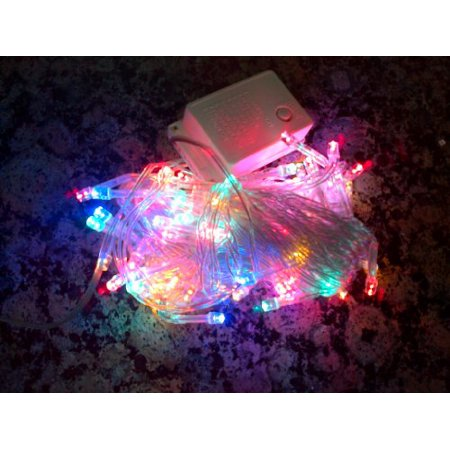 Perfect Holiday String Lights : Perfect Holiday 8 Modes 100 Led String Christmas Wedding Fairy Lights Party with Tail Plug, 32 ...