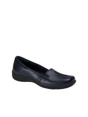 easy street purpose women's slip on 8.5 2a(n) us navy