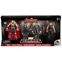 Thor, Black Widow, Bruce Banner & Marvel's Hawkeye Action Figure 4-Pack