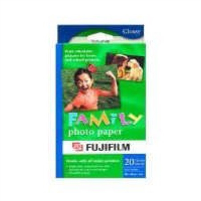 FUJI Family Paper 4 x 6 Inches; 5 Pack of 20 Sheet -NR (402803-100PK)
