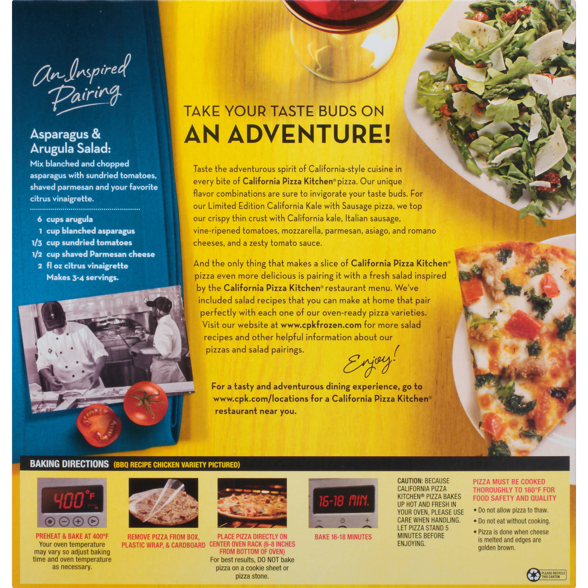 california pizza kitchen limited edition crispy thin crust queso