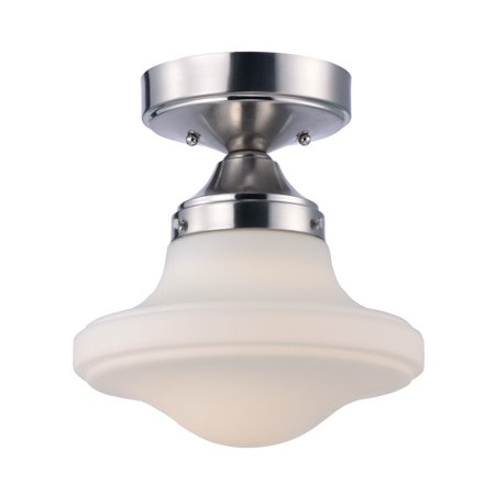 Satin White Flush (Maxim Lighting New School - 10.5