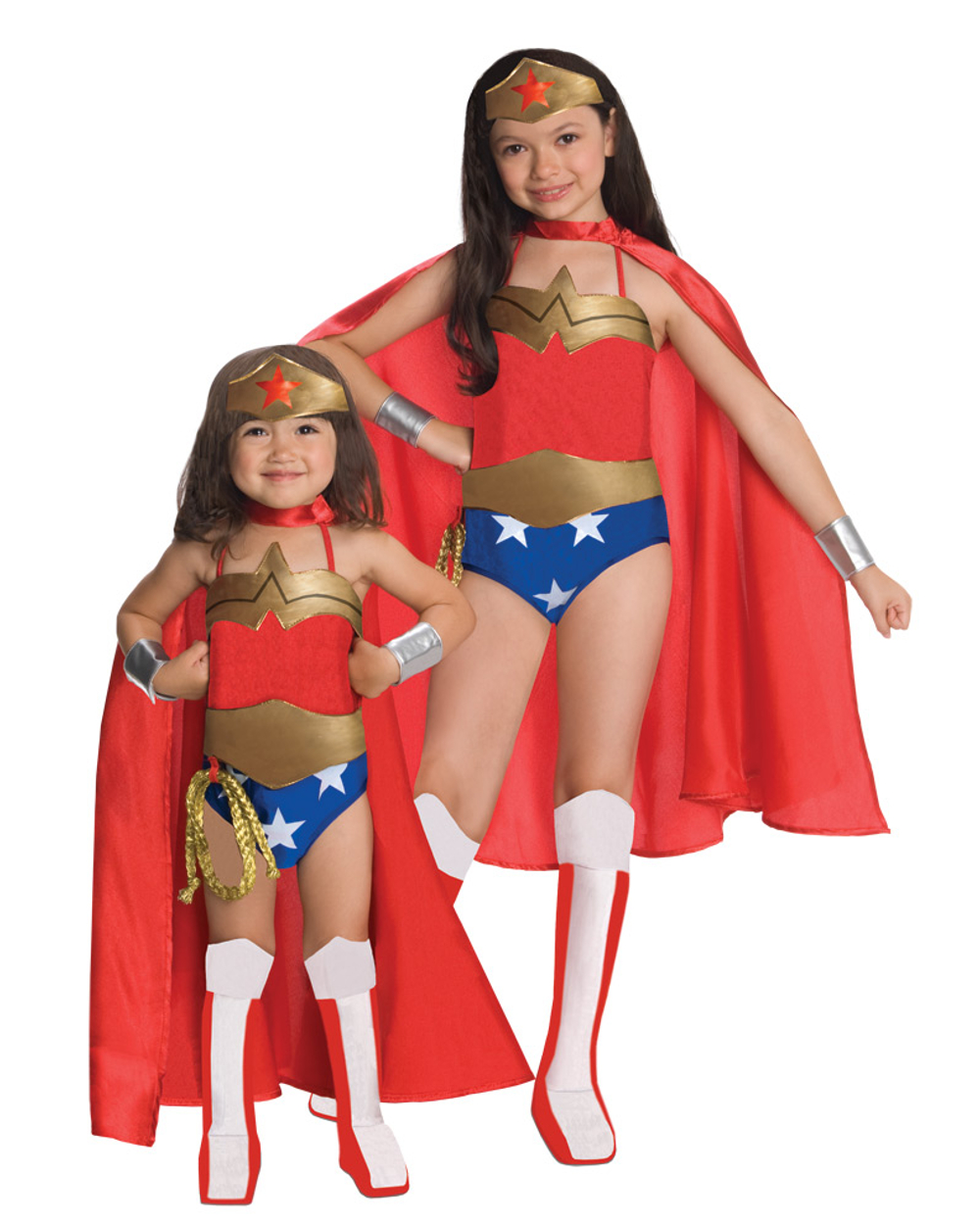 Justice League Dc Comics Wonder Woman Child Halloween Costume