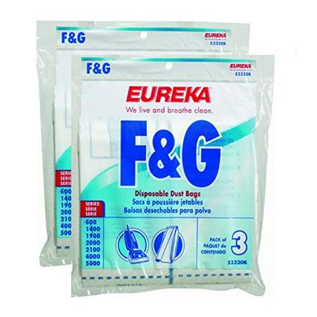 Genuine Eureka F G Disposable Dust Bag 52320c 6 Pack