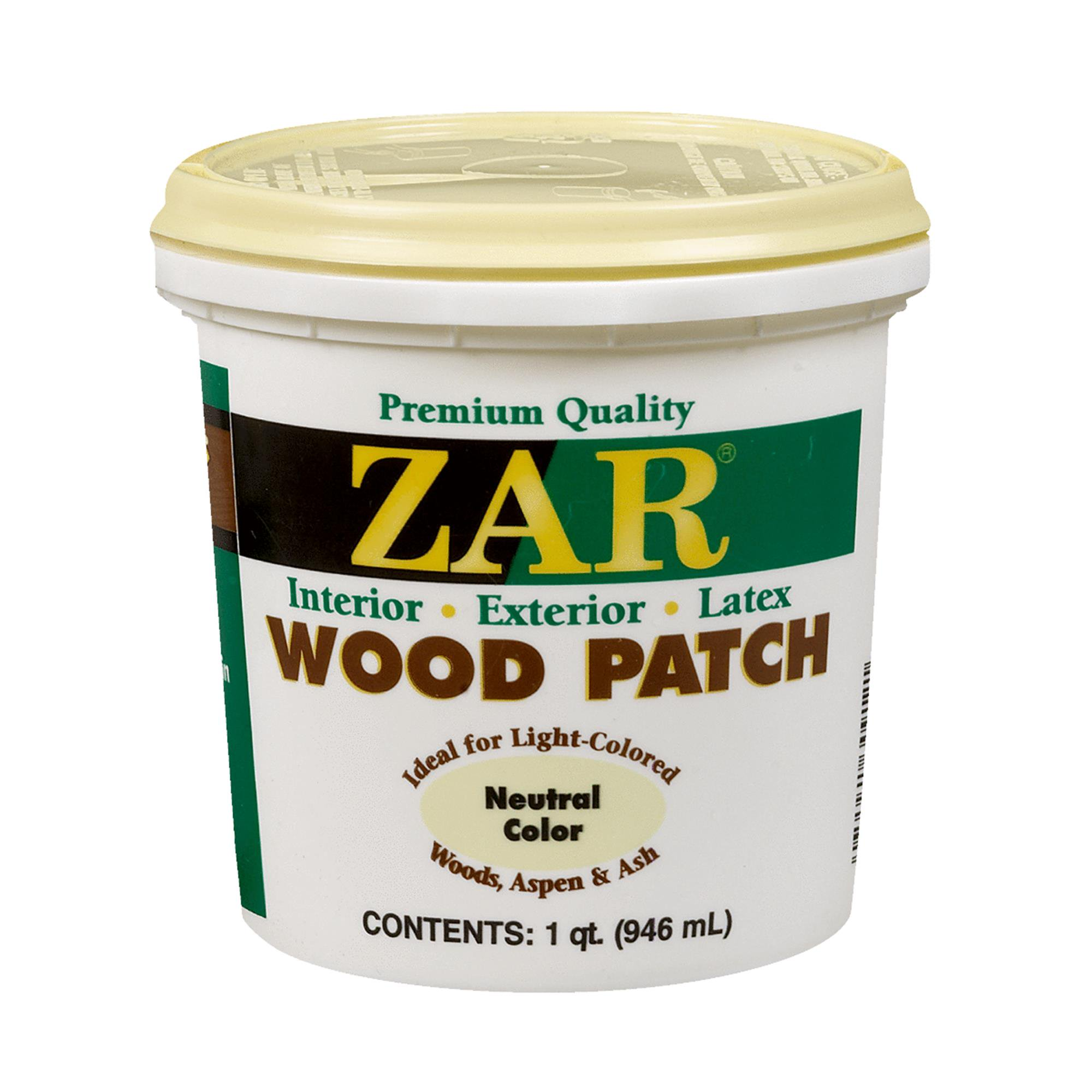 ZAR Latex Wood Patch Wood Filler
