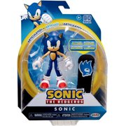"""Sonic Articulated Sonic the Hedgehog Action Figure 4"""" with Snowboard"""