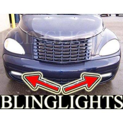 New 2001 2002 2003 2004 2005 Chrysler PT Cruiser Xenon Fog Lamps Driving Lights Foglamps Foglights -