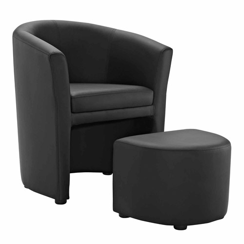 Modway Divulge Armchair and Ottoman, Multiple Colors by Modway