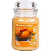 American Home by Yankee Candle Mandarin Orange, 19 oz Large Jar Candle
