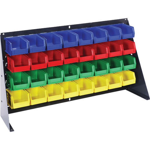 Quantum Storage Bench Racks with Bins (Complete Package)