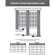 99e66cf338 No. 918 Brayden Cotton Gauze Curtain Panel - Walmart.com