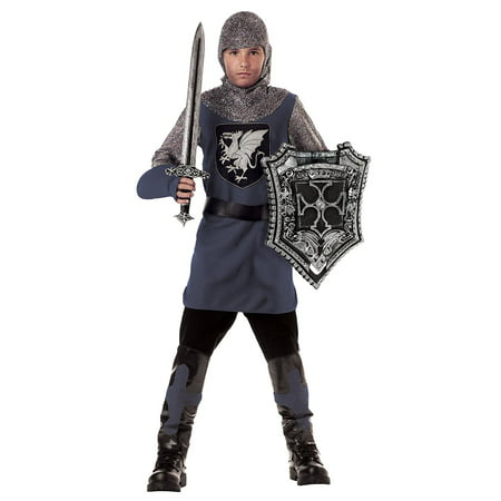 Toys Valiant Knight, X-Small, Children X-Small 4-6, Small 6-8, Medium 8-10, Large 10-12 and X-Large 12-14 By California Costumes](Valiant Knights)