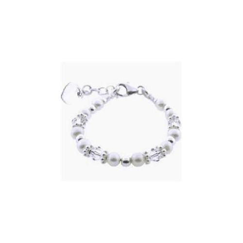 Emerald Baby EB-PPBB-131 - Precious Pearls Baby Bracelet