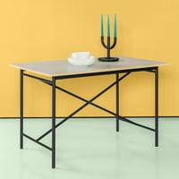 "Zinus Atelier 29"" Dining Table, Black"