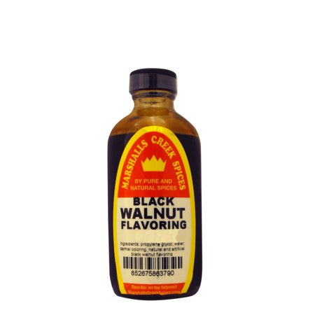 Marshalls Creek Spices BLACK WALNUT FLAVORING  8 (Hardwood Black Walnut Flooring)