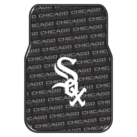 Chicago White Sox Two Piece Front Car Mats - No Size (Chicago White Sox Car)