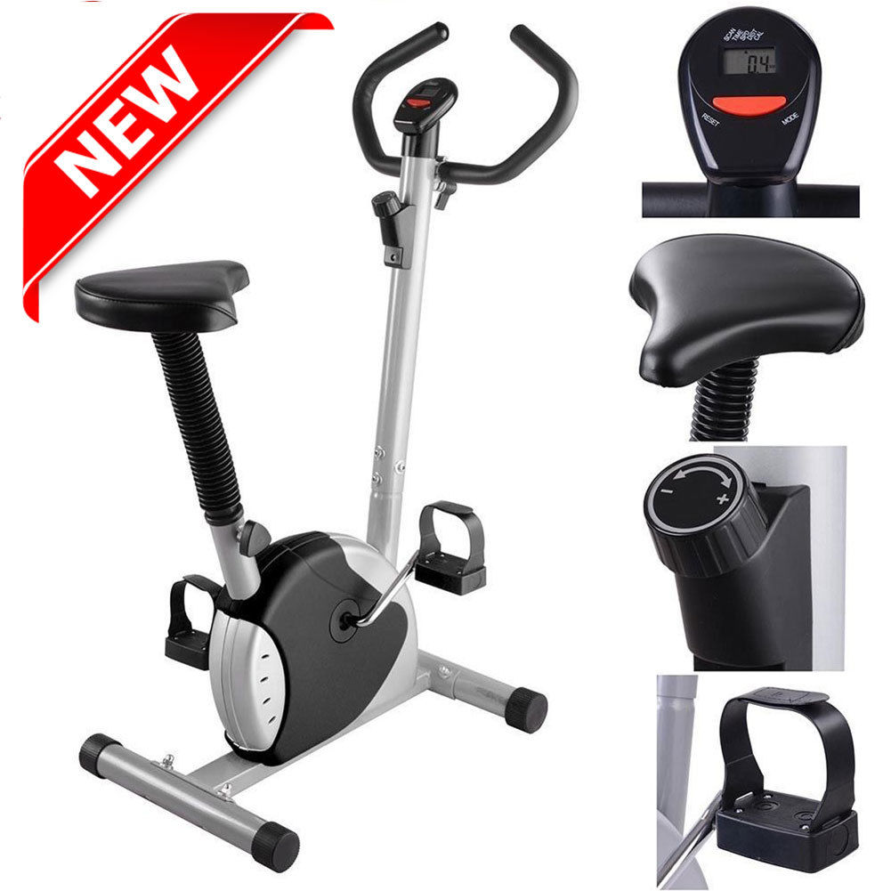 Exercise Bike Fitness Cycling Machine Cardio Aerobic Equipment Workout Home, Gym,Office