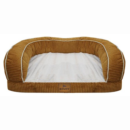 Stuft Blissful Rest Pet Bed, Large, Apple Cinnamon