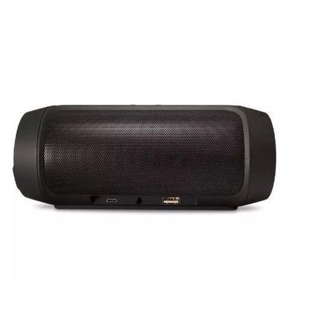 Black Bluetooth Speaker Super Bass Pill Style Speaker USB Charge Outdoor