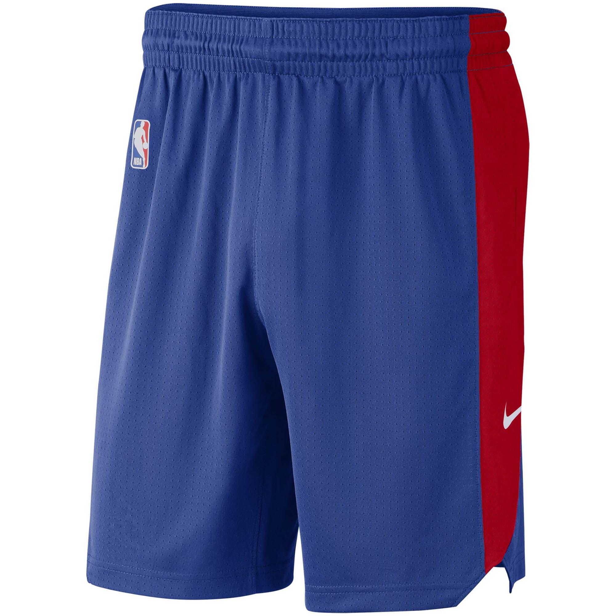 Philadelphia 76ers Nike Performance Practice Shorts - Royal