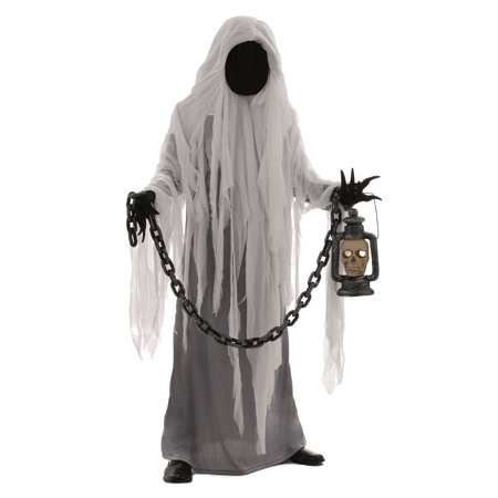 Adult Spooky Ghost Costume for $<!---->