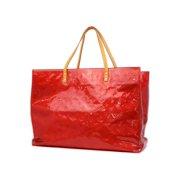 Louis Vuitton Red Monogram Vernis Reade GM 232105