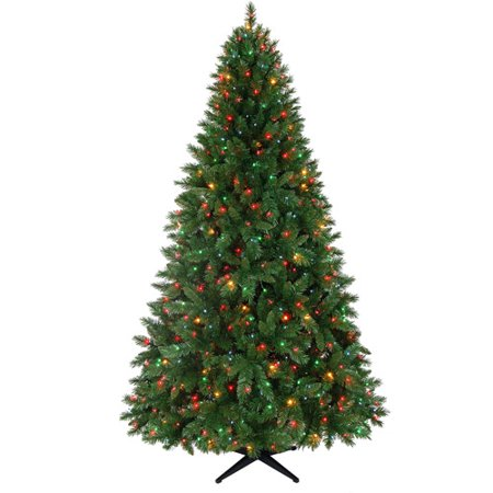 Pre Lit Christmas Tree Multicolor Lights