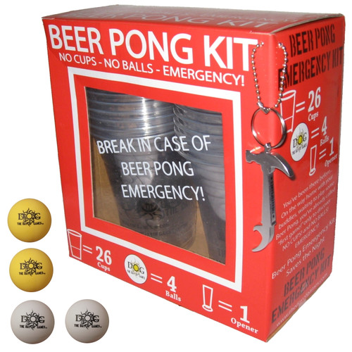 The Day of Games Beer Pong Emergency Kit