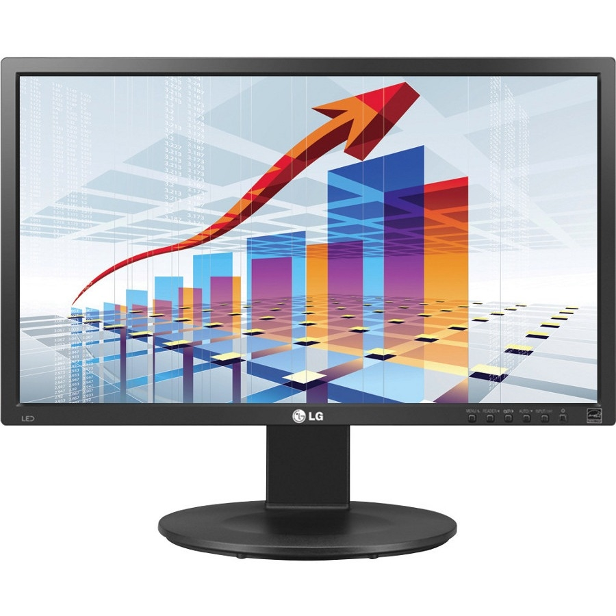 "Lg 22mb35d-i 22"" Led Lcd Monitor - 16:9 - 5 Ms - 1920 X 1080 - 16.7 Million Colors - 250 Nit - 5,000,000:1 - Full Hd - Dvi - Vga - 26 W - Black - Tco Certified Displays 6.0, Energy Star 6.0, Tv,"