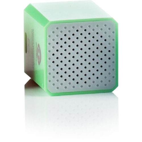 WowWee 1442 WowWee Groove Cube Shutter - Green - 1 Inch Cube Speaker - Building Bluetooth and Remote Shutter Connect to Smart Device - Hand Free Phone Calls - Connect up to 32 Feet