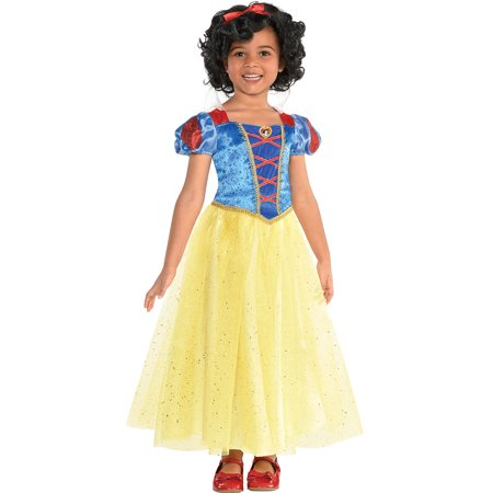 Snow White Halloween Costume for Girls, Snow White and the Seven Dwarfs, Small - Snow White Halloween Ideas