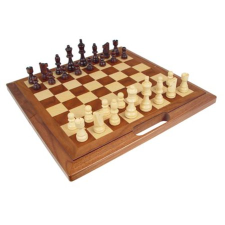 Carry Along Wooden Chess Set