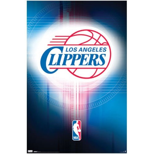 Los Angeles Clippers Logo 2010 Sports Poster Pring