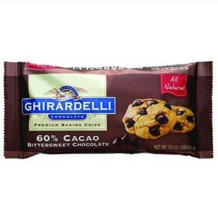12 Pack :       Ghirardelli Chocolate Premium Baking Chips 60% Cacao Bittersweet (Best Bittersweet Chocolate For Baking)