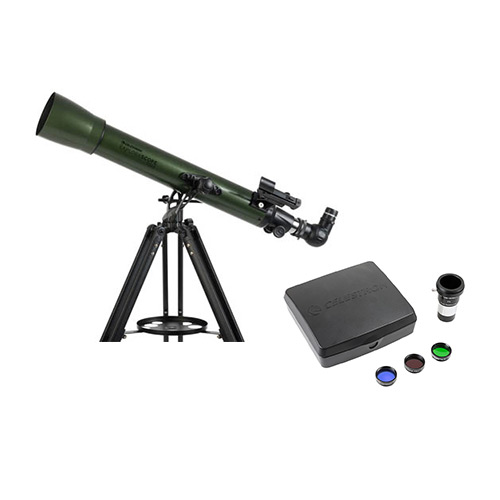 Celestron ExploraScope 70AZ Refractor Telescope-Intermediate Imaging