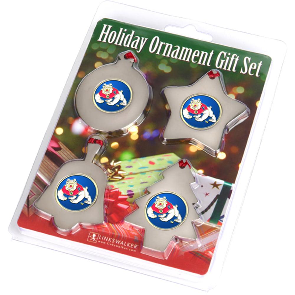 LinksWalker Mississippi State Bulldogs Snowflake Ornament
