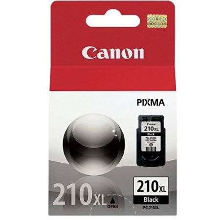 210 Single - Canon PG-210 XL B Ink Cartridge (Single Pack) INK PG 210XL BLACK CARTRIDGE