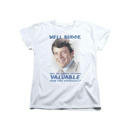 Brady Bunch 1970's Family Sitcom TV Show Mike Brady Buddy Women's T-Shirt Tee