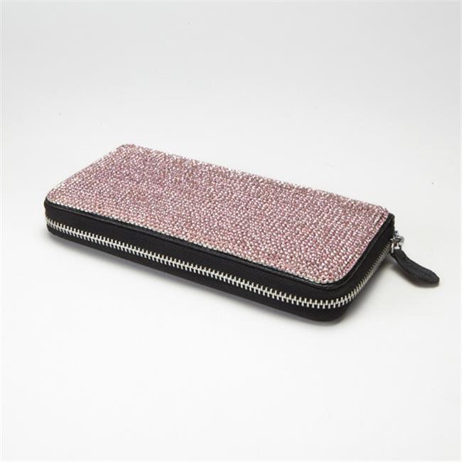 Alexander Kalifano SW-003-R Wallet Made with Crystals - Rose