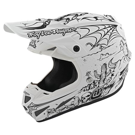Troy Lee Designs Limited Edition SE4 Composite MIPS MX Helmet - White - Large Limited Edition Small Helmet