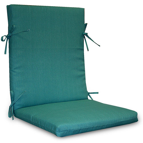 Solid Turquoise Chair Cushion