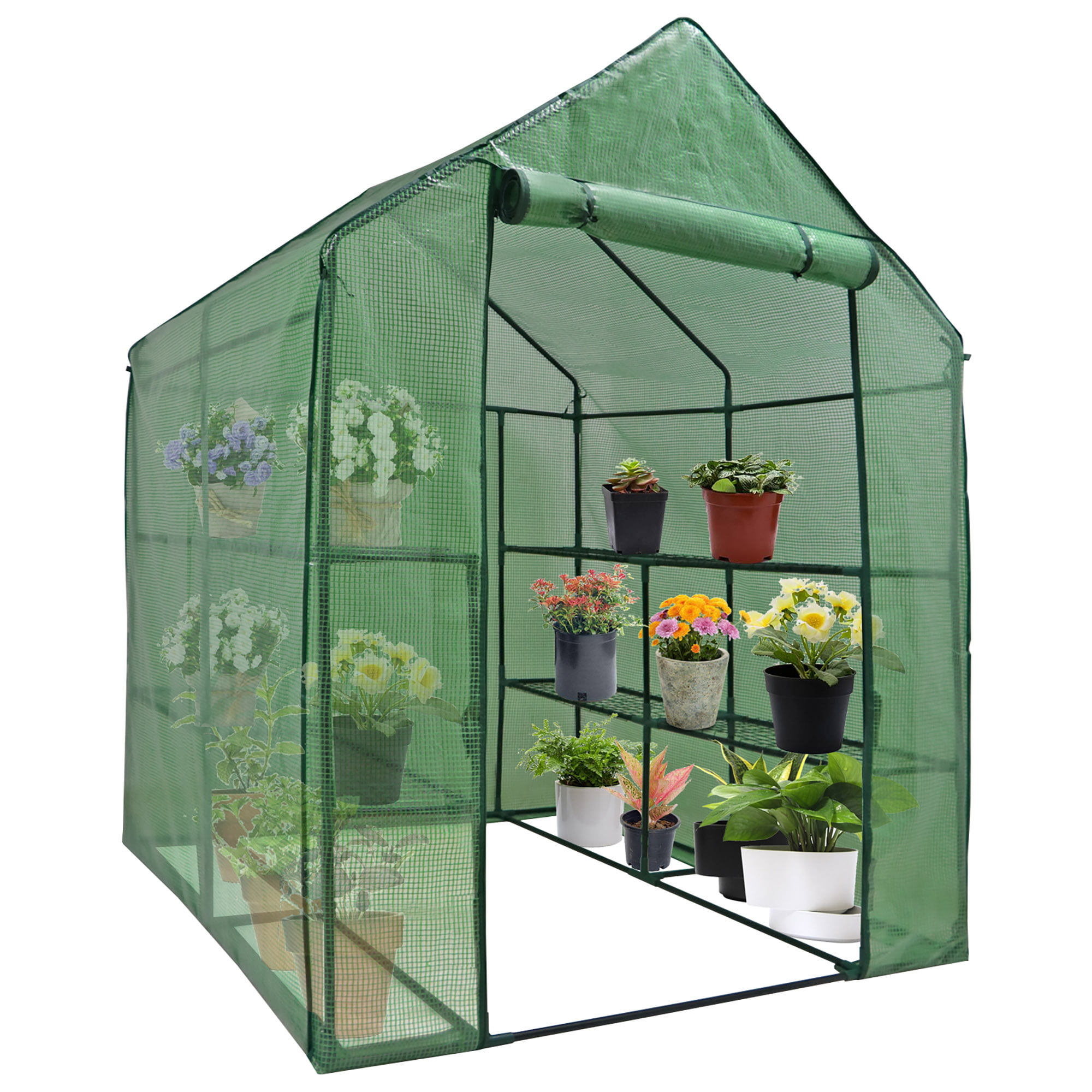 Seedlings Without Shelf Waterproof UV Protected Small Potted Plants Greenhouse Plant Greenhouse Cover for Grow Seeds