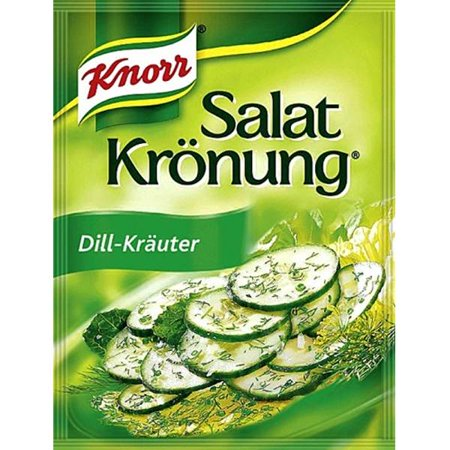 Knorr Salad Dressing  Mix Dill & Herbs - 4 x 5 packs ( 20 Total )