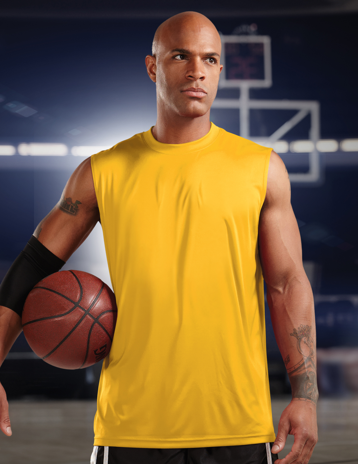 Tri-Mountain Bulk Wholesale Crossover K224NS Basketball Jersey, 2X-Large, Black
