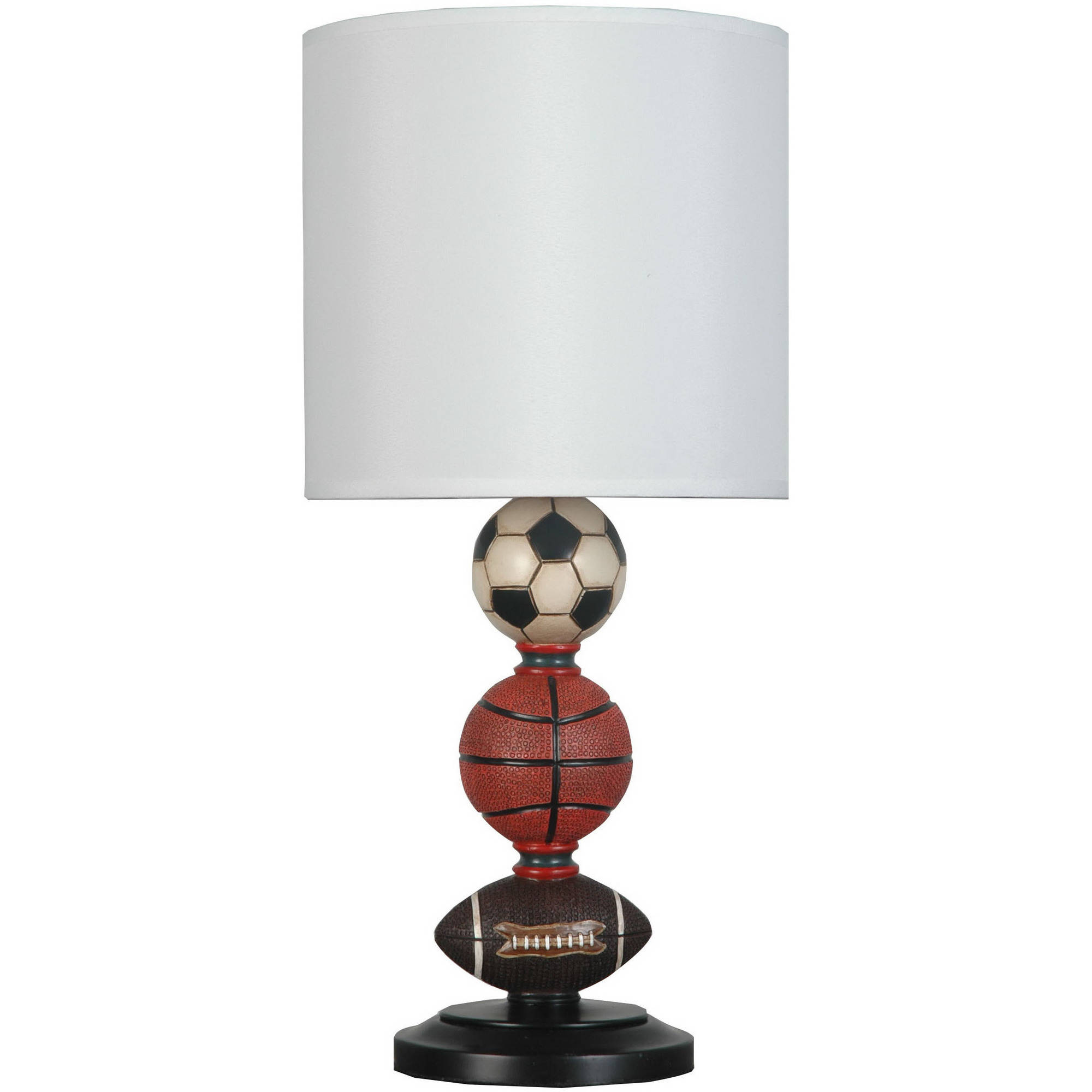 Delicieux Your Zone Multi Sports Table Lamp With Shade