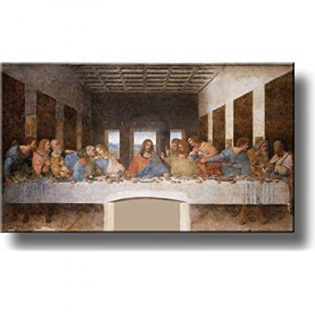 The Original Last Supper By Leonardo Da Vinci Painting Original Picture Made on Stretched Canvas Wall Art Decor Ready to - Leonardo Da Vincis Paintings