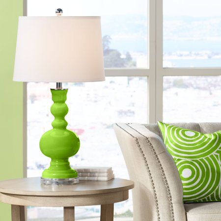 Color + Plus Neon Green Apothecary Table Lamp